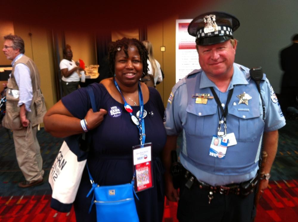 Making Positive History with Chicago Cop John B (c) 2012 J.M. Rose-Harris
