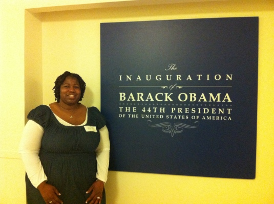 Volunteering at the Presidential Inaugural Committee HQ