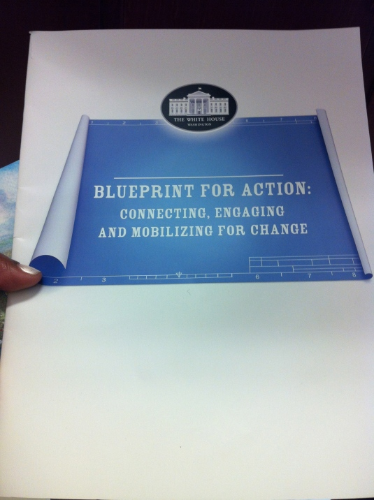 Learning at the White House Policy Briefing