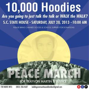 Peace March for Trayvon