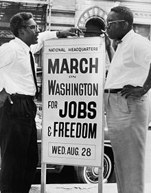 March on Washington for Job's & Freedom