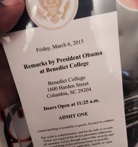 Presidential Event Access