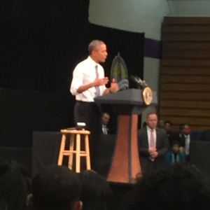 President Obama at Benedict College
