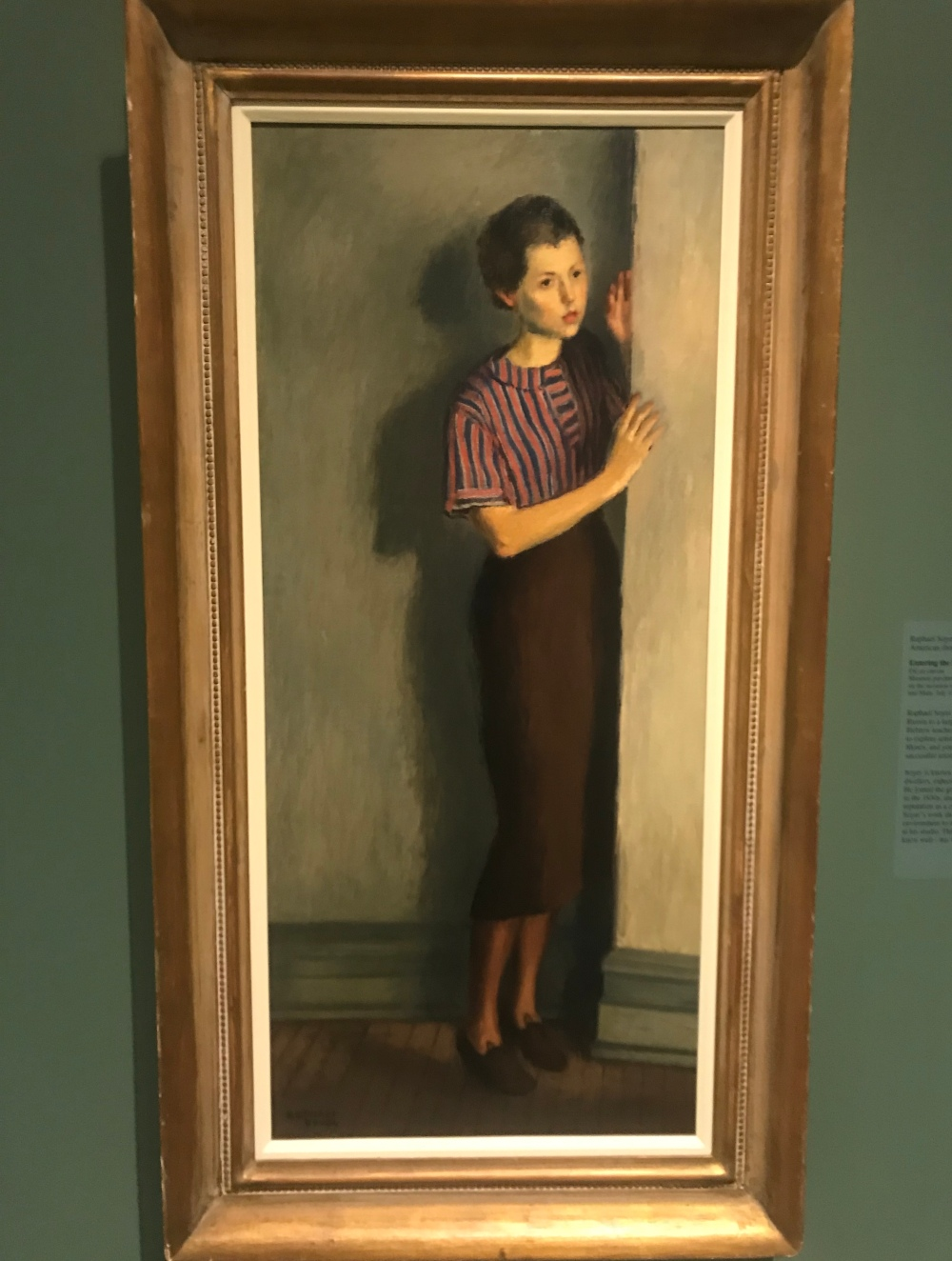 entering_the_studio_by_raphael_soyer